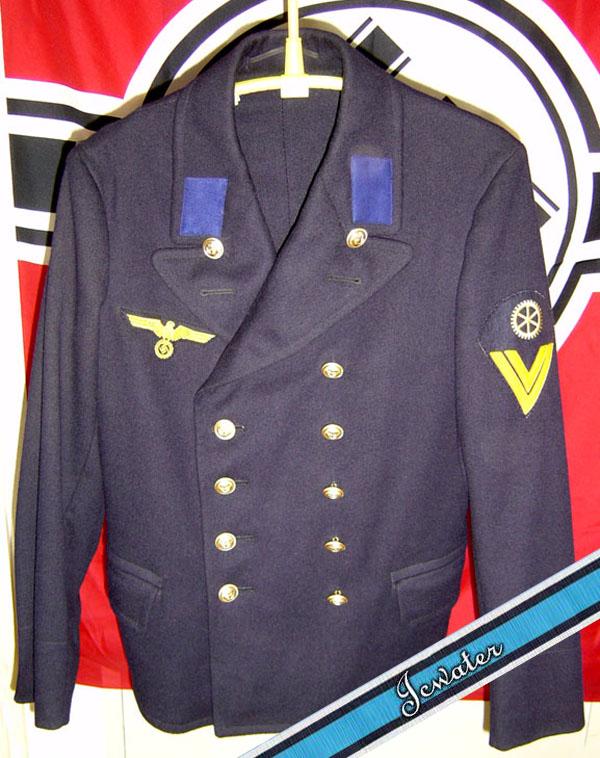 海军士官服饰 ps素材
