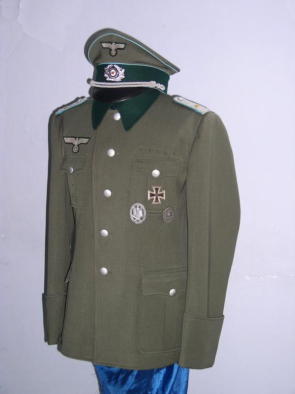 国防军运输部队中尉常服